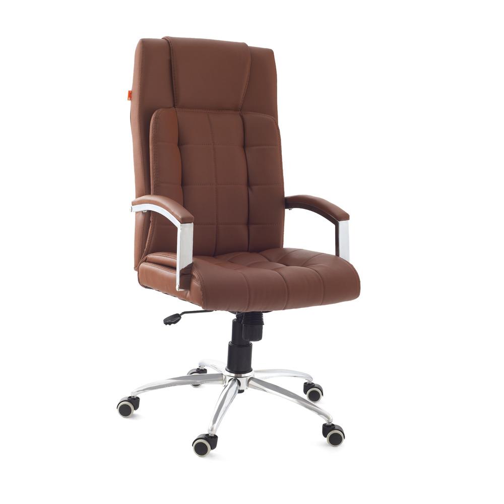 Da URBAN® Richmond Tan High-Back Revolving Chair