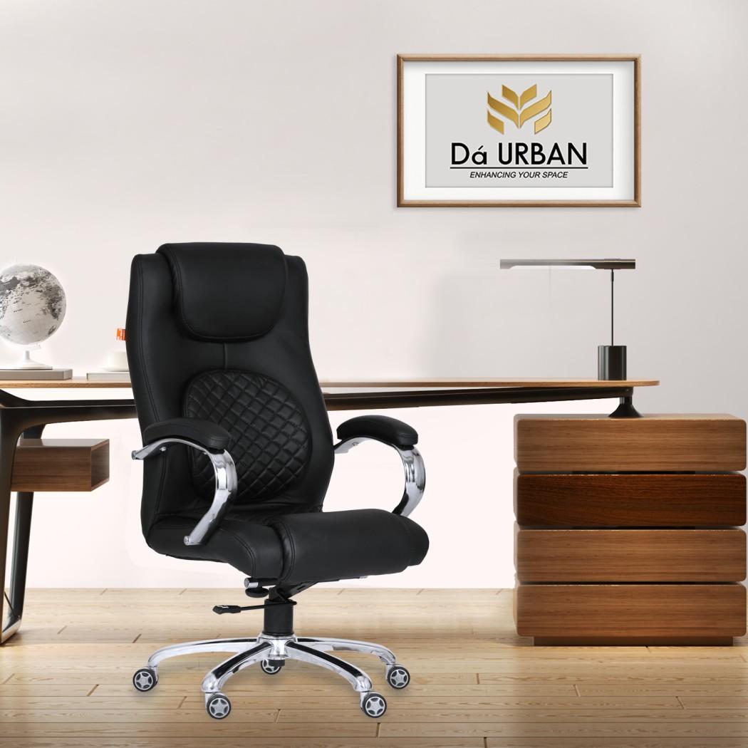 Da URBAN® Grafton High-Back Revolving Chair (Black)